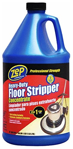 Gallon Bottle Stripper - Commercial Heavy-Duty Floor Stripper Concentrate, Gallon Bottle, 4 Bt/Cs, Lot of 1