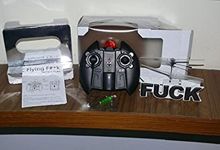 Amazon.com: Flying Fuck RC Helicopter: Toys & Games