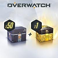 OVERWATCH - 50 ANNIVERSARY LOOT BOXES (+1 LEGENDARY BOX) - PS4 [Digital Code]