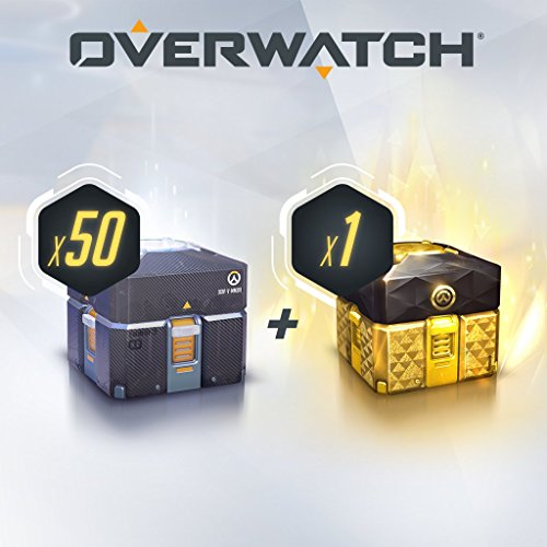 OVERWATCH - 50 ANNIVERSARY LOOT BOXES (+1 LEGENDARY BOX) - PS4 [Digital Code] by Blizzard Entertainment
