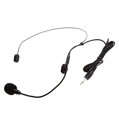 MagiDeal Clip de Solapa En Micrófono con Cable para Amplificador AKG ...