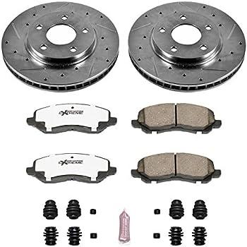Power Stop K1382-26 1-Click Street Warrior Z26 Brake Kit