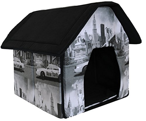 1 Set Excellently Popular Indoor Pet House Dog Tent Collapsible Couch Cat Furniture Style New York