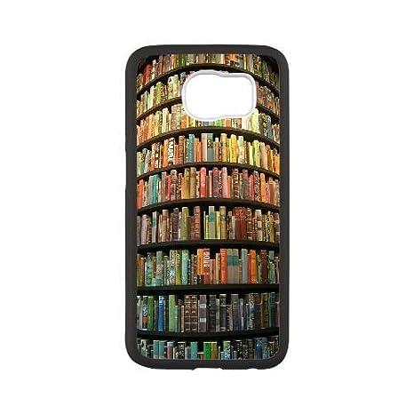 Weukk Cool Bibliothek Karte Inspiriert Samsung Galaxy S6 Schutzhülle