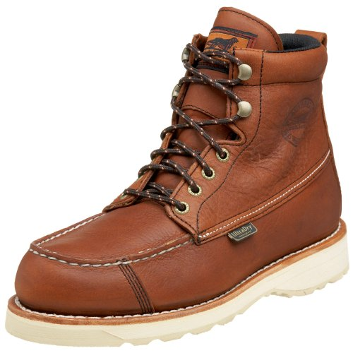 How To Waterproof Leather Boots - Irish Setter Men's 838 Wingshooter WP Upland Hunting Boot, Amber - 10.5 2E US