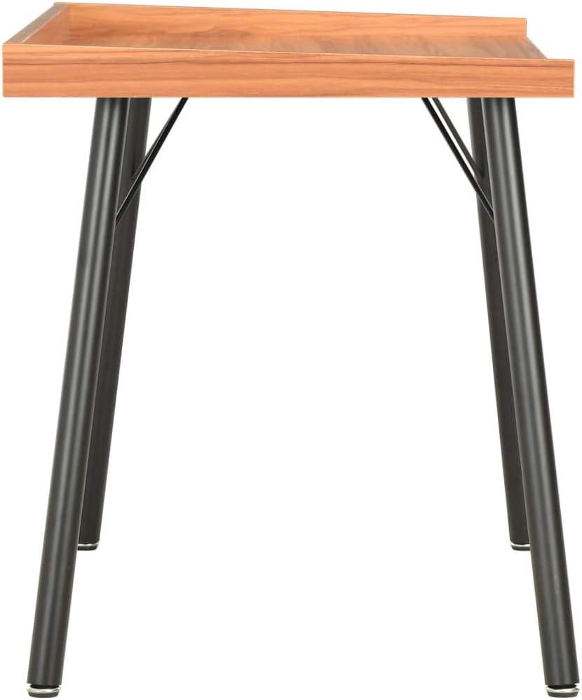 vidaXL Escritorio Mesa Trabajo Oficina Estudio Despacho Decoraci/ón Dise/ño Estilo Mobiliario Mueble Ordenador Casa Hogar Bricolaje 90x50x79 cm Marr/ón