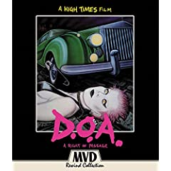 D.O.A.: A Right Of Passage in Theaters in November and on Blu-ray and DVD December 8 from MVD