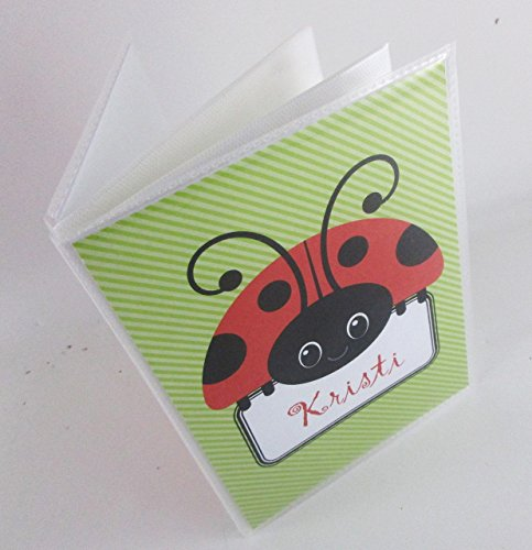 Ladybug Photo Album. 129. 4x6 or 5x7 .Personalized baby shower gift, photo Book.Grandma's Brag Book. boy or girl