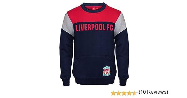 Liverpool FC - Sudadera oficial para niño - Con el escudo del club ...