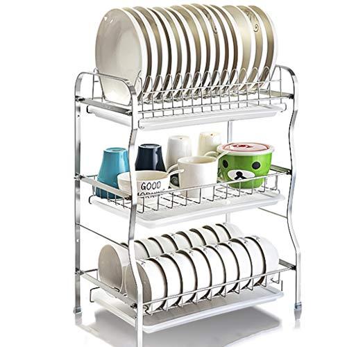 Escurridor de platos Cubiertos de escurreplatos Estante de cocina Caja de  almacenamiento del recipiente del filtro 264bd43012cd