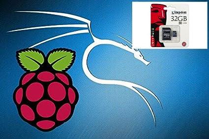 Kali Linux 2019 1 for Raspberry PI 2,3B and 3B+ (Plus)  Full 32GB Micro SD  Card
