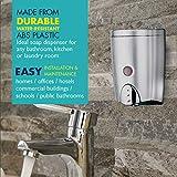 HOMEPLUZ Simply Silver Manual Wall Soap Dispenser