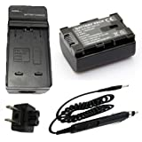 GZ-HM670BU GZ-HM670BUS HD Everio Flash Memory Camcorder Battery Pack for JVC Everio GZ-HM670