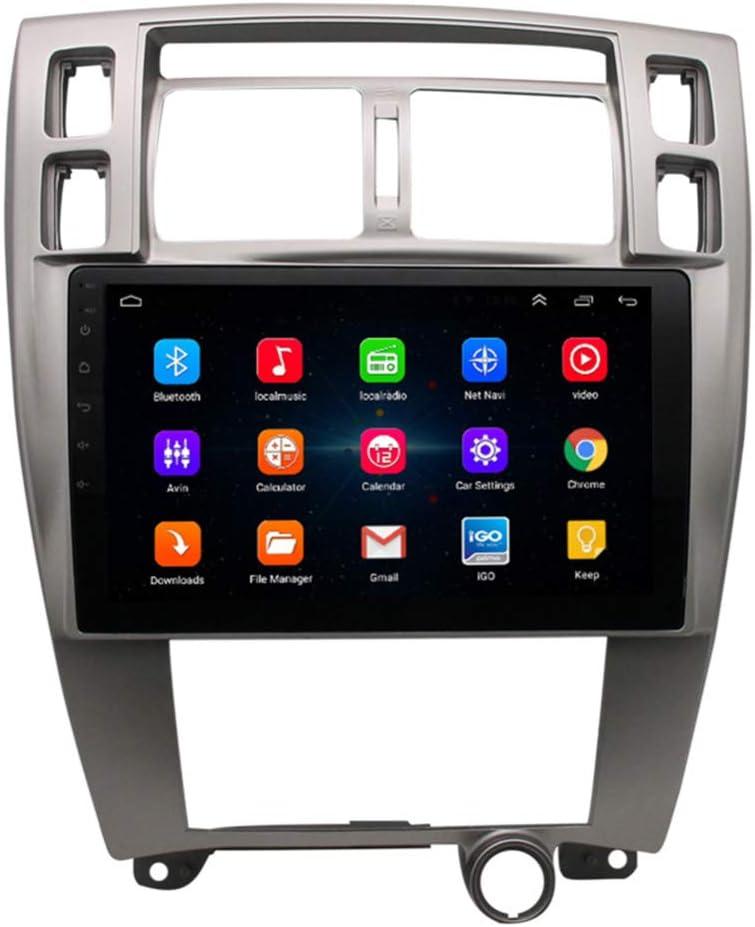 XMZWD Coche Navegación System Android 9.1 para Hyundai Tucson 2006-2014 Cuatro Nucleos 10