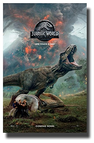Jurassic World 2 Fallen Kingdom Poster Movie Promo 11 x 17 R