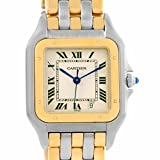 Cartier Panthere quartz mens Watch W25028B6 (Certified Pre-owned)