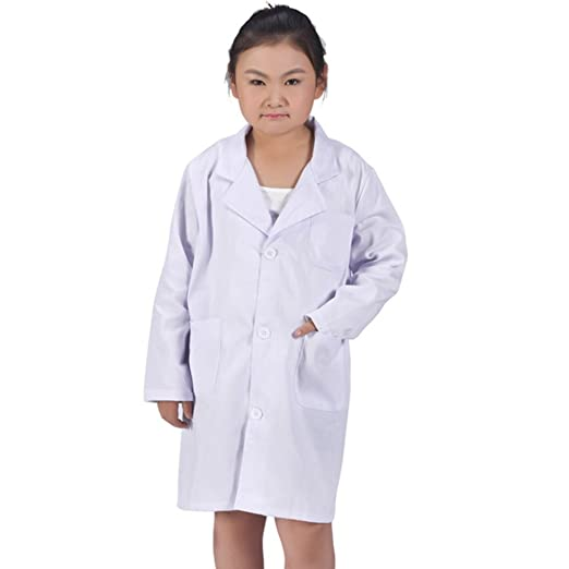 SamTaiker White Kid Lab Coat for Scientist Or Doctors Role Play Costume Set (Small  sc 1 st  Amazon.com & Amazon.com: SamTaiker White Kid Lab Coat For Scientist or Doctors ...