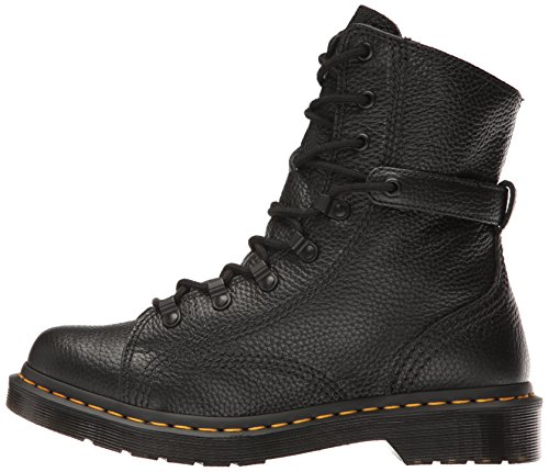 Dr. Martens Women's Coraline In Aunt Sally Leather Combat Boot