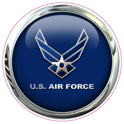 Uae Air Force Emblem U.s Air Force Emblem Decal