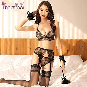 31b898bbbe00f WXNLEAI Yi envidia de la cortina lencería sexy de las mujeres del cordón de  pestañas ligeras