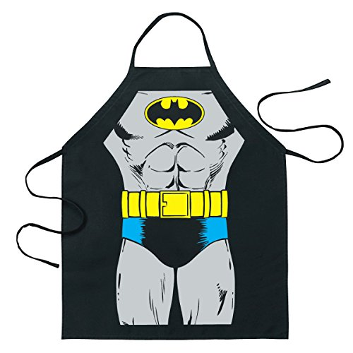ICUP DC Comics - Batgirl Be The Character Adult Size 100% Cotton Adjustable Black Apron