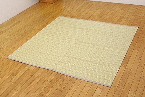 い草調 カーペット 本間3畳 約191×286cm ベージュ balkan-h3 ござ 日本製 インテリアショップゆうあい B011TM6KSS ベージュ 3畳 約191×286cm