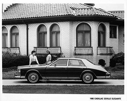 Amazon Com 1985 Cadillac Seville Elegante Automobile Photo Poster