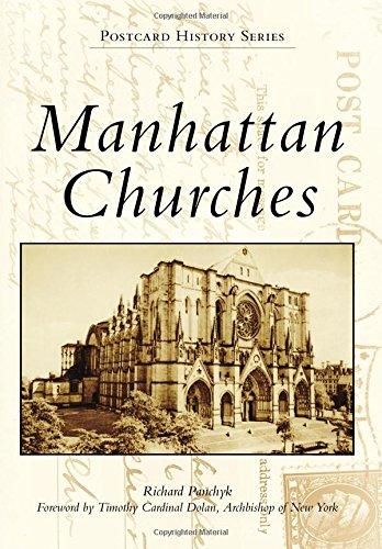 Manhattan Churches (Postcard History)