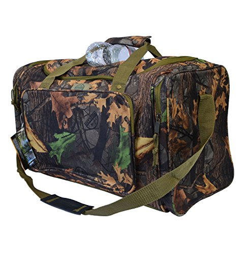 Explorer Mossy Oak Realtree Like Tactical Hunting Camo Heavy Duty Duffel Bag Luggage Travel Gear for Huniting Outdoor Police Security Every Day Use (MossyOakbag)
