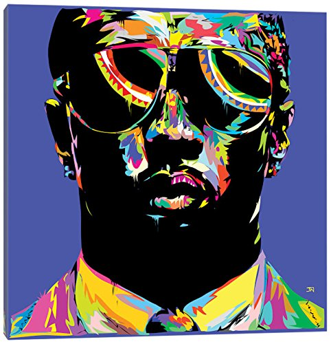iCanvasART TDR107-1PC3-26x26 Icanvas P. Diddy Print by TECHNODROME1, 26
