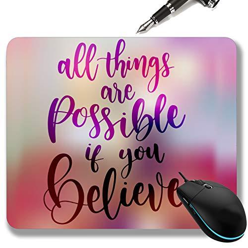 Clickshop enterprise Mouse Pads pc Laptop Computer Desktop Gaming for Office Motivational Quotes Indian Printed Designer…