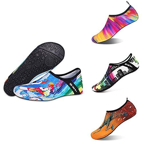 Footwear Unisex Shoes Water Dry 5 Bangle009 Anti Skin Yoga Slip Socks Quick Aqua Swimming BC7wxqz7d