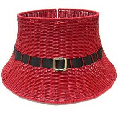 Shadloo Industrial TV209231 Red Wicker Tree/Collar