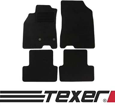 Carmat Texer Textile Floor Mats Suitable For Renault Megane Iii Year Of Manufacture 2008 2015 Basic Auto