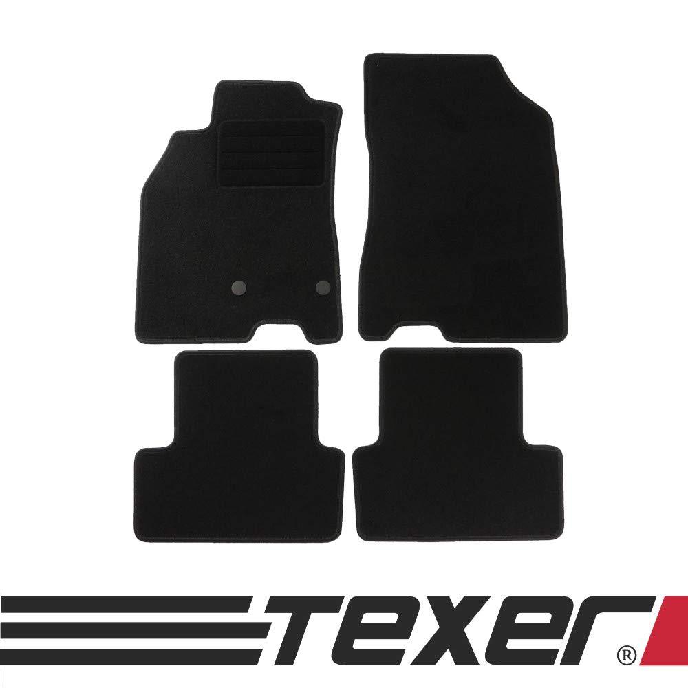 CARMAT TEXER Textil Fu/ßmatten Passend f/ür Renault Megane III Bj 2008-2015 Basic