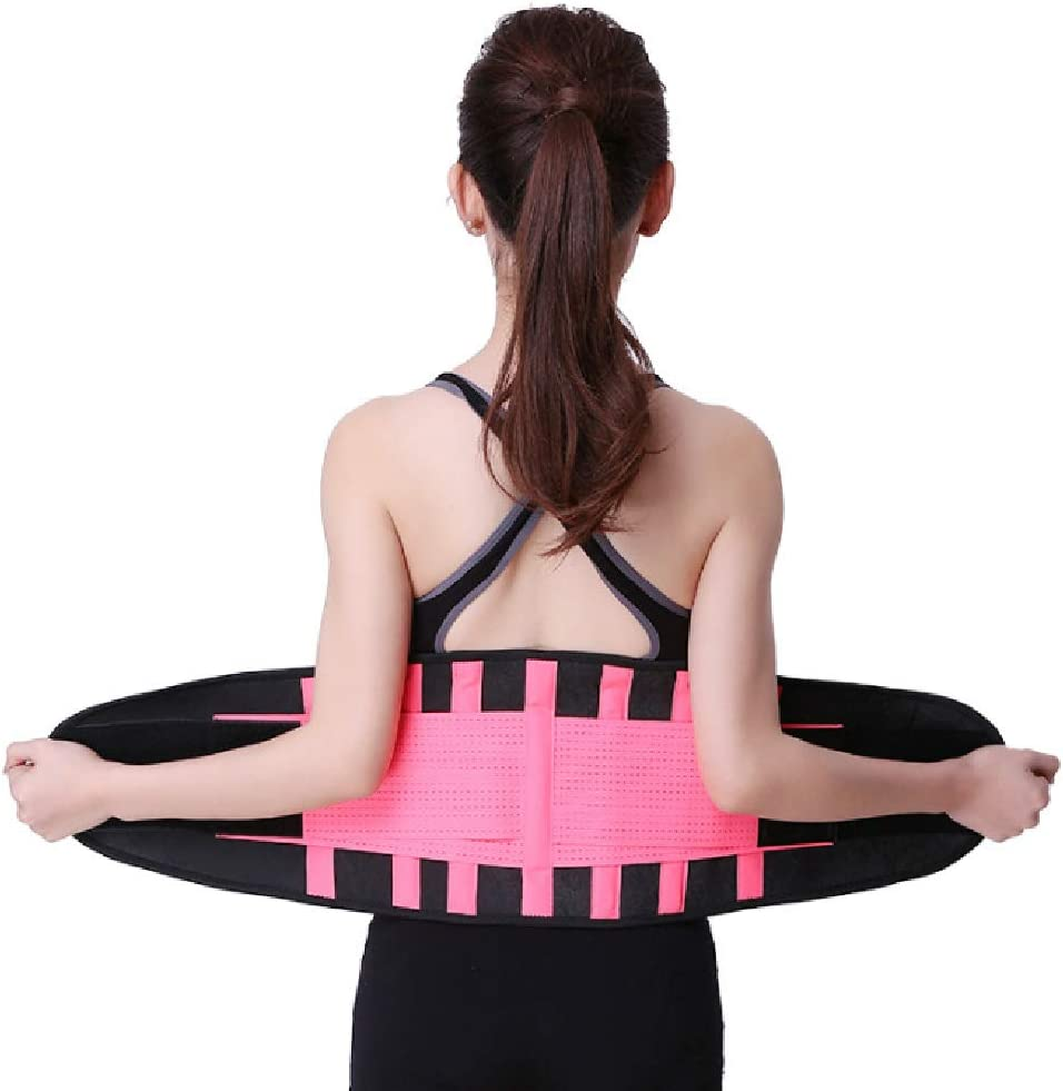 GKPLY Recortador De Cintura para Mujeres, Entrenador De Cintura para Adelgazar, Cinturón Moldeador De Cuerpo, Cómodo Cinturón Ajustable, Soporte De Columna Lumbar para Aliviar El Dolor De Espalda