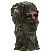 Gracefulvara Outdoor Motorcycle Bike Winter Ski Face Mask Head Cover Balaclava Hat