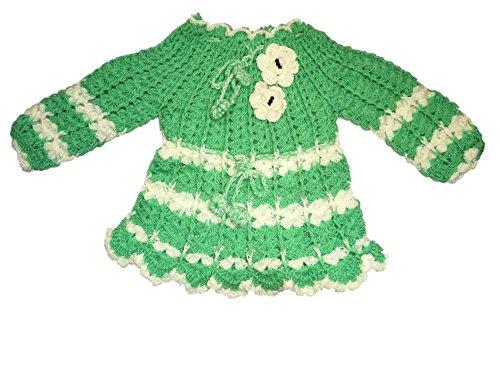 eac6867ff CutiePie Collections Baby Girl s Handmade Woolen Sweater Cum Frock ...