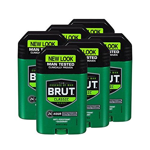 Brut Anti-Perspirant Plus Deodorant, Classic, 2 Ounce (Pack of (Classic Anti Perspirant Deodorant)