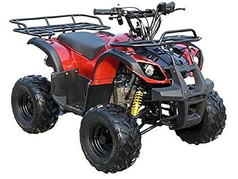 """CRT 125 cc ATV totalmente automático cuatro ruedas 4 tiempos motor 7 """"neumáticos Quads"""