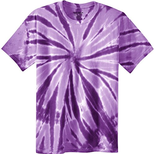 Koloa Surf Co.(tm) Colorful Tie-Dye T-Shirt,4XL-Purple