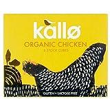 Kallo Organic Free Range Chicken Stock Cubes (6x11g)