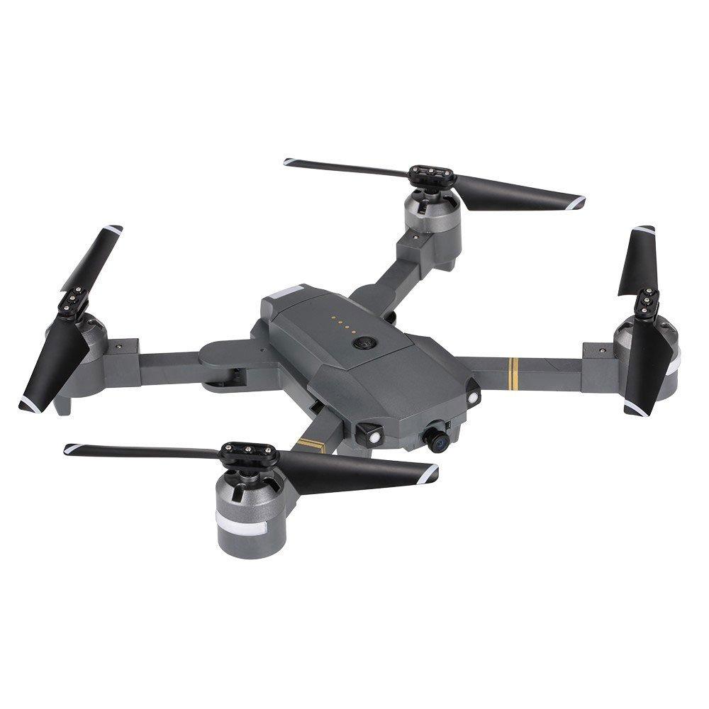 ZZH Drohnen mit Kamera 1080P, Feste hoch faltende vierachsige Luft Drohne Flugzeug mit Aufbewahrungstasche für Kinder Erwachsene Anfänger
