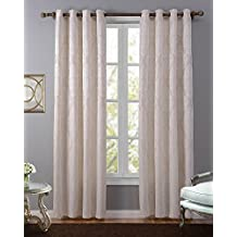 LOHASCASA Blackout Curtain Liner Noise Reduction Room Darkening Thermal Insulated Black Out Curtain 1 Panels Window Drapes and Curtains for Living Room and Bedroom(52 By 95 Inch Beige)
