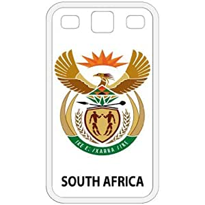 South Africa - Country Coat Of Arms Flag Emblem White Galaxy S3 i9300 Cell Phone Case - Cover