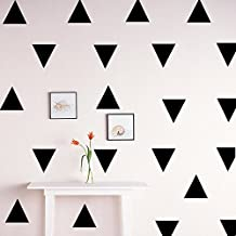 Ufengke® Cartoon 48Pcs 3.8X3.8Cm Triangle Wall Decals,Children's Room Nursery Removable Wall Stickers Murals