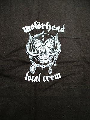 2012 Motorhead Concert T Shirt Local Stage Crew XL X-LARGE