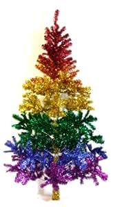 """Rainbow Xmas tree 72"""""""