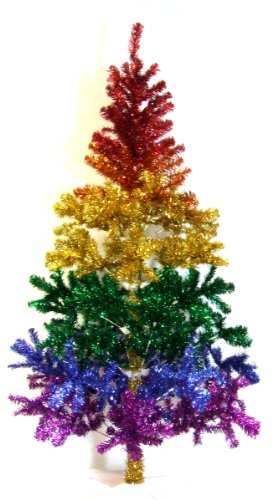 Rainbow Christmas Tree 6 Ft.