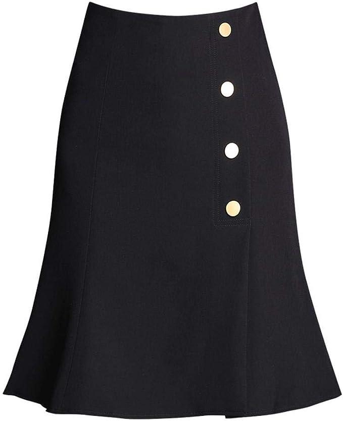 NJunicorn Uncle - Falda para Mujer, hasta la Rodilla, diseño de ...